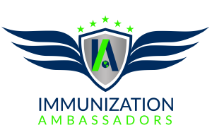 Immunization Ambassadors logo. STC home, scientific technologies corporation, phx warehouse, yesphx, intelligent solutions, social community, vaccine advocate, advocate, whyivax, why vaccinate, why do people vaccinate, education, immunization education